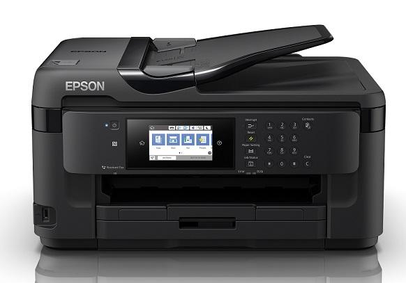 EPSON Printer Business Workforce WF7710DWF Multifunction Inkjet A3