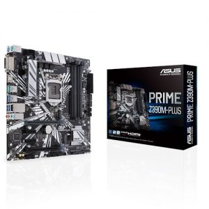 ASUS MOTHERBOARD Z390M-PLUS, 1151, DDR4, MATX