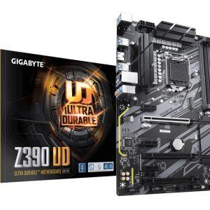 GIGABYTE MOTHERBOARD Z390 UD, 1151, DDR4, ATX