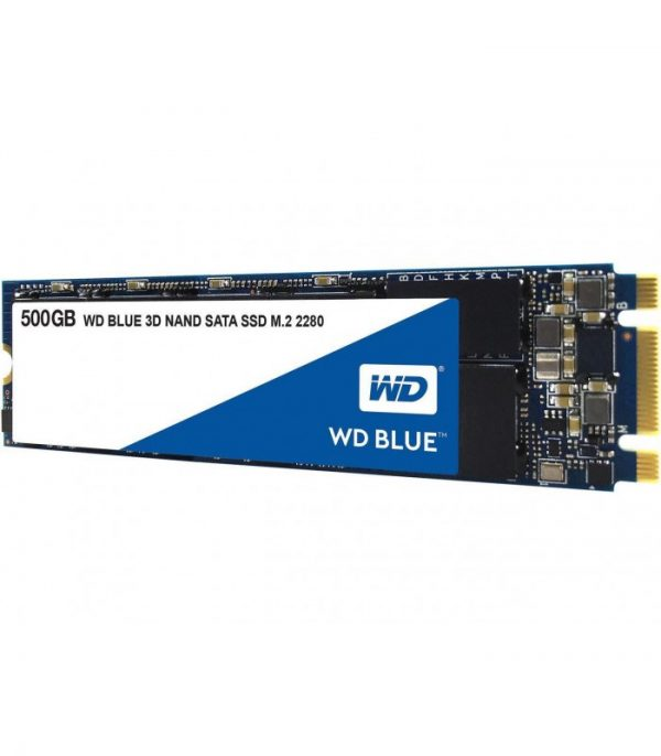 Western Digital Blue M.2 500GB SATA III SSD [WDS500G2B0B]