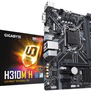 GIGABYTE MOTHERBOARD H310M H 2.0 ,1151 ,MATX
