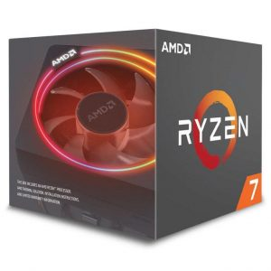 AMD Ryzen 7 2700X with Wraith Prism cooler
