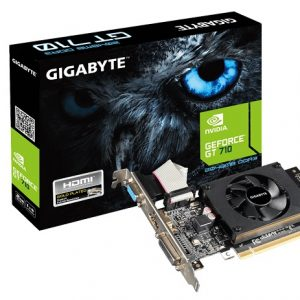 GIGABYTE VGA GT 710, GV-N710D3-2GL, 2048, DDR3